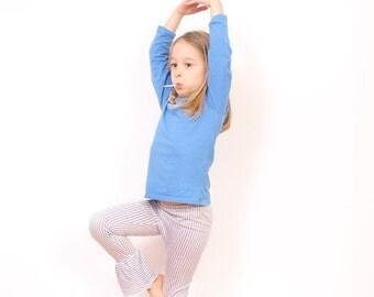 Toddler ruffle LEGGINGS epattern - girls ruffle leggings pattern - easy children sewing patterns - INSTANT DOWNLOAD