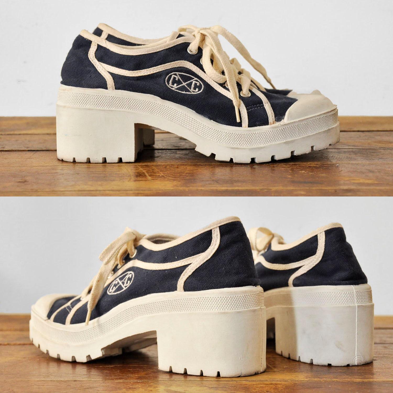amazing 90 s cross colours platform tennis shoes 7 5