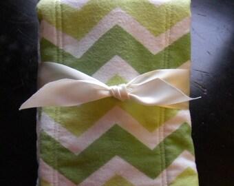 Burp cloth sets/mini baby blankets