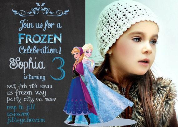 disney frozen birthday invitations – gangcraft, Birthday invitations