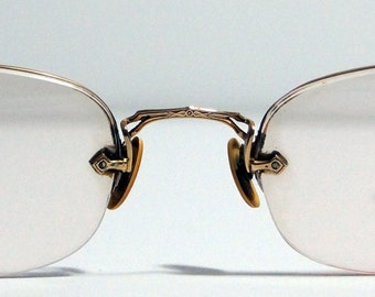 1940s wire frame glasses wwii vintage retro - Wire Framed Glasses