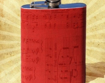 I'm With the Band 8 oz. Flask // Hip flask // Stainless Steel Flask