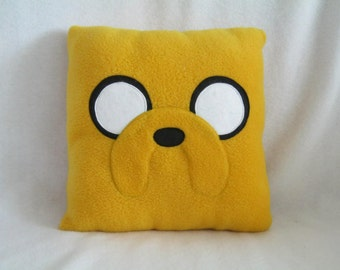 Jake the Dog Adventure Time Pillow