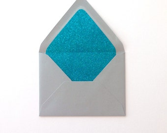 Glitter Envelope Liners  |  A1, A2, A6, & A7