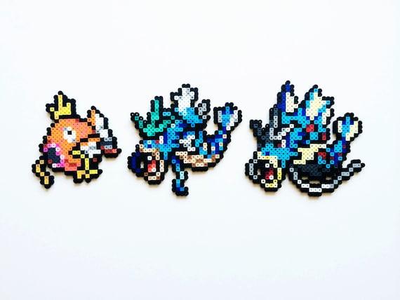 Pokemon perler magikarp gyarados mega gyarados or full - Pokemon perle evolution ...