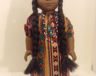 "Indian Azteca Outfit - Fits 18"" American Girl Doll and all other 18"" Dolls"