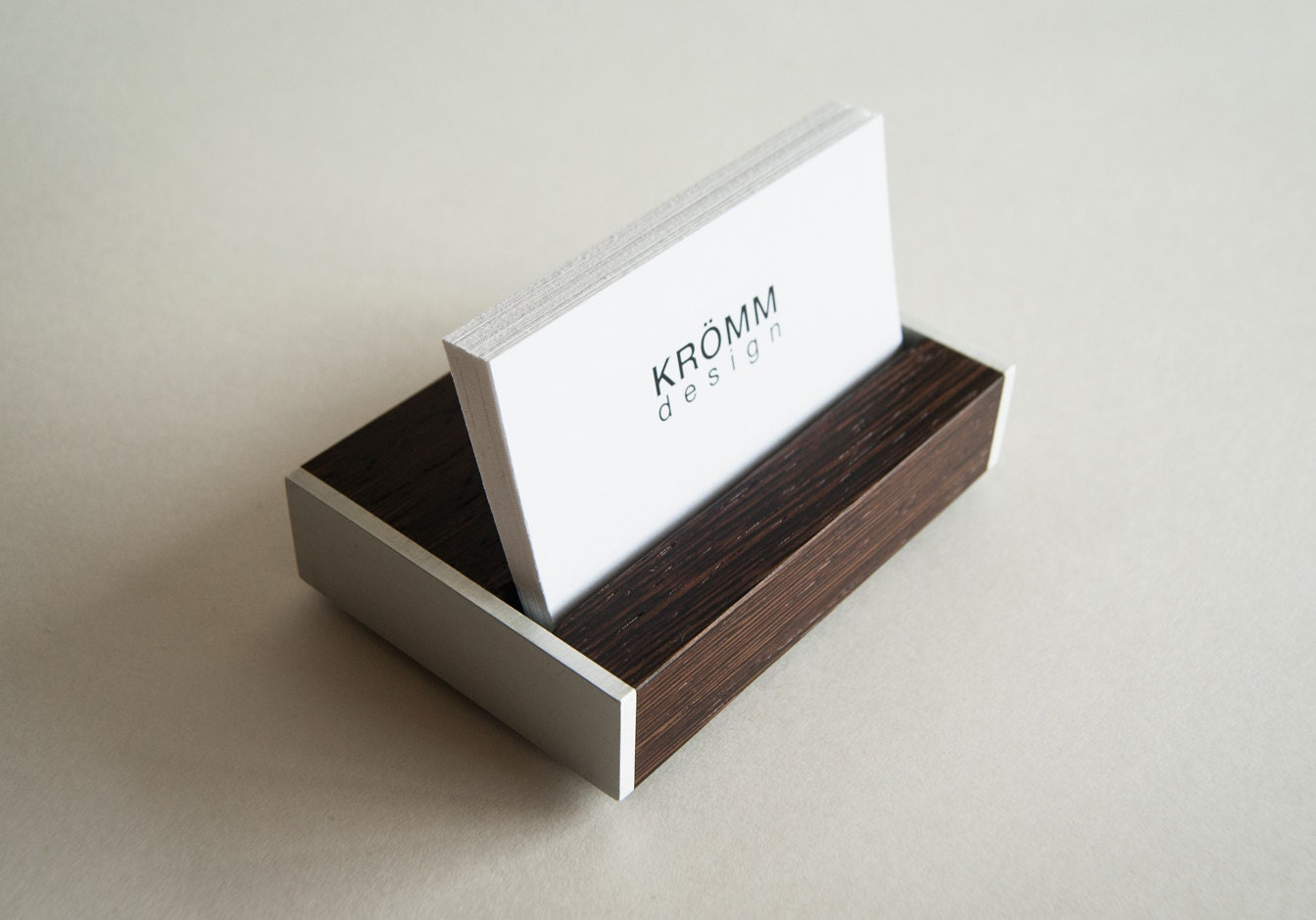 Business Card Holder Business Card Stand by KROMMdesign