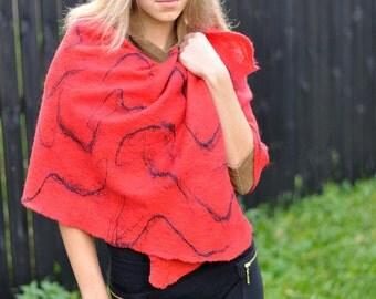 Cobweb light, soft scarf