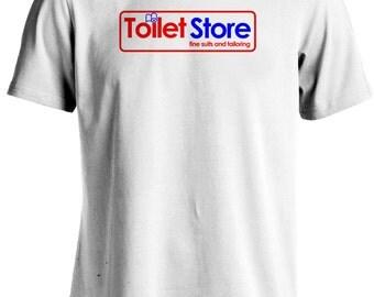 Anchorman: The Legend of Ron Burgundy - Brick Tamland Toilet Store T-shirt