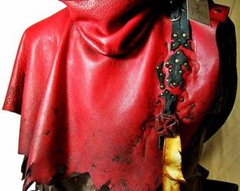 Kaos Witch hunter high collar short cape