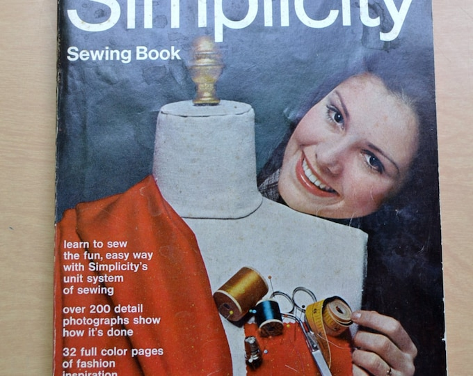 Vintage Simplicity Sewing Book 1969 Soft Cover PanchosPorch