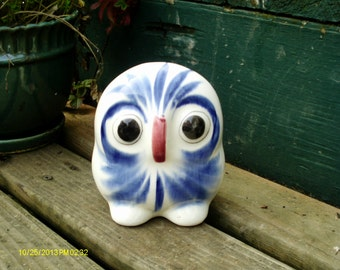 Sale: Vintage Mexican Pottery Owl