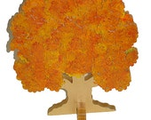 Autumn Tree Wooden 3D Puzzle Ready to ship Family Tree Guest Book Puzzle Wedding Guest Book Puzzle