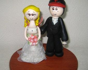 Baseball wedding cake topper / wedding cake topper / sports cake topper