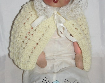 Pretty Vintage Doll With Composition Head And Cloth Body /MEMsArtShop .
