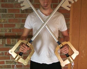 Wooden Keyblade Cosplay Prop inspired by Kingdom Hearts