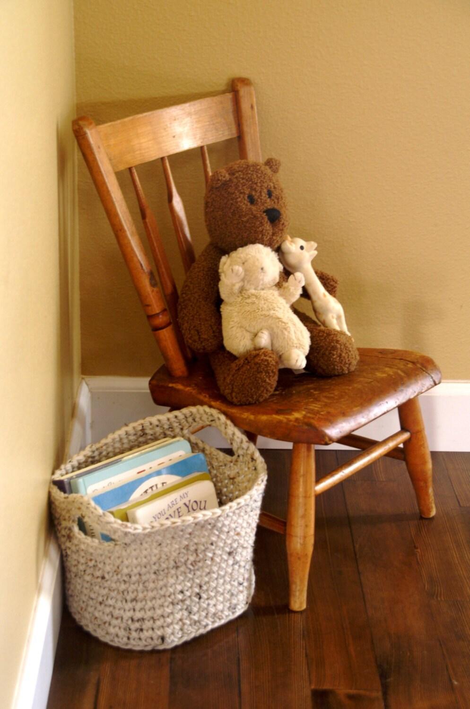 Handmade Crochet Basket : Handmade crochet basket colors