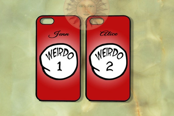 items similar to weirdo 1 and weido 2 couple best friend