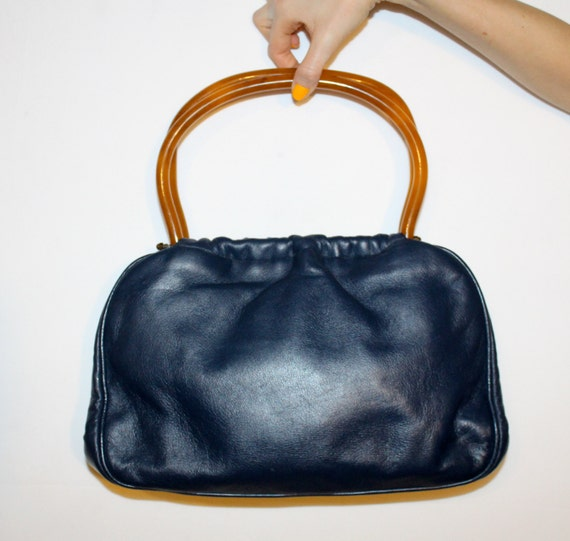 7469fd79405e01 Navy Leather Handbags Sale | Stanford Center for Opportunity Policy ...