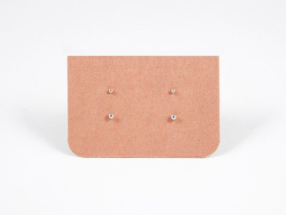 Tiny Dot Stud Earrings 1 5mm Amp 2mm Sterling Silver By