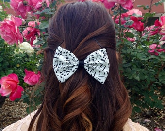 Music Notes Bow
