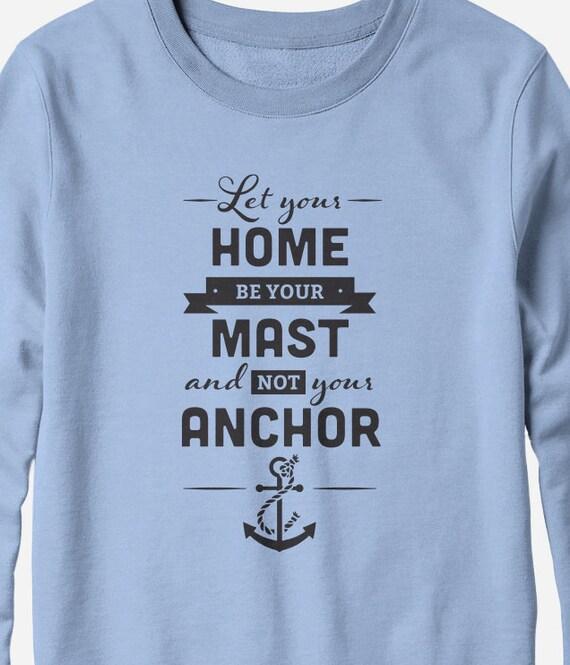 Sweatshirt - Kahlil Gibran quote - literary sweatshirt - You Choose Color