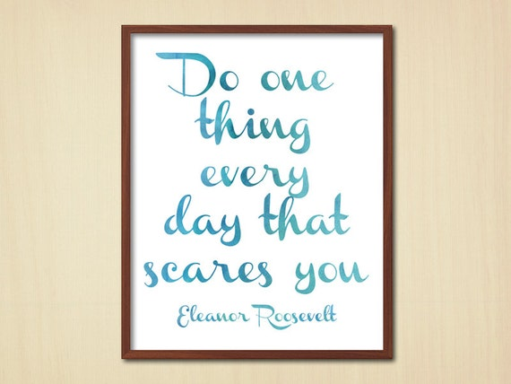 Items similar to printable poster quote watercolor for Home decor quirky