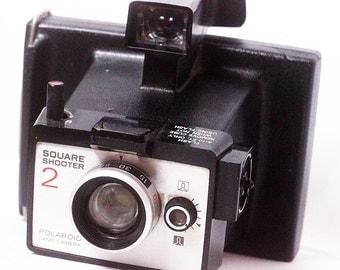 Vintage Polaroid Square Shooter 2 Camera