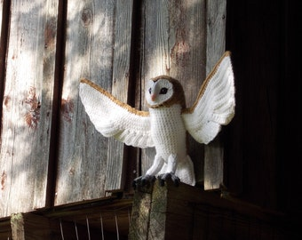 Crochet Barn Owl Pattern (PDF)