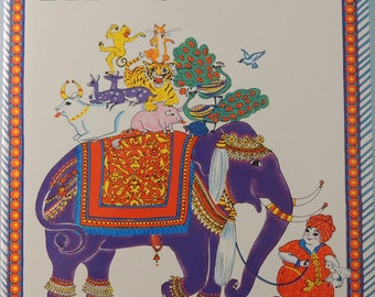 1984 Fat Gopal - Jacquelin Singh - Illustrator - Demi - 1st Edition - Original Dust Jacket - Indian Folktale