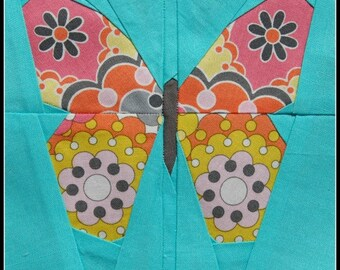 Simple Butterfly- A Paper Piecing Pattern