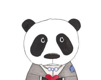 Greeting Card: I'm A Sad Panda Without You...