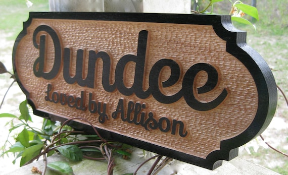 Horse Name Plate Personalized Stall Sign by