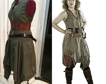 River Song Day of the Moon Cosplay Dress Deluxe Version Custom Sized