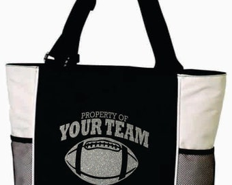 TEAM FOOTBALL BAG. Team Football Bag. Team Sports Bag. Team Sports Tote. Mascot Tote. Mascot Bag. Football Bag. Football Tote. Free Shipping