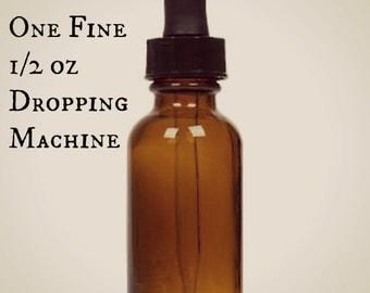 Dropper Bottle - 0.5 oz - Empty Glass Bottle with Dropper - Amber Dropper Bottle - Amber Glass Dropper Bottle
