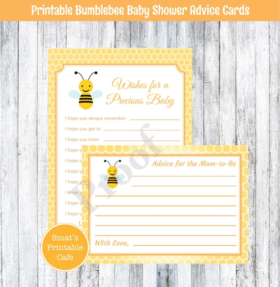 Bumblebee Honey Bee With Honeycomb Baby Wishes And Advice