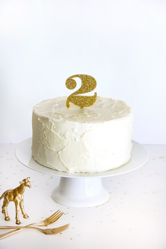 gold cake toppers items similar to gold glitter number cake topper on etsy 4525