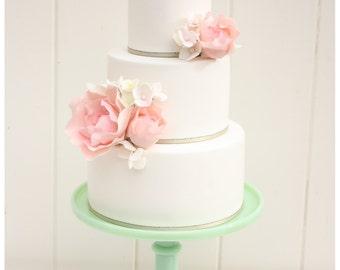 Custom Wedding Cake Topper Live Laugh Love Cake Topper