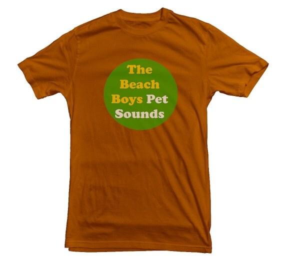 Brian Wilson Beach Boys Pet Sounds Beach Boys T-shirt Pet Sounds