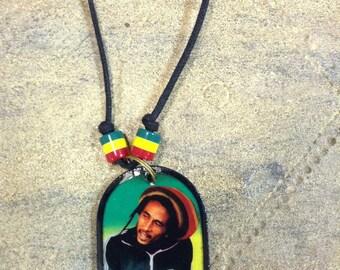 Bob Marley Reggae Necklace