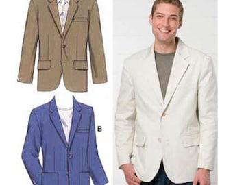 Sewing Pattern - Mens Pattern, Blazer Pattern, Kwik Sew #K3485