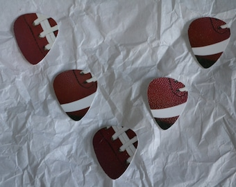 Football Fun Picks, Guitar Picks