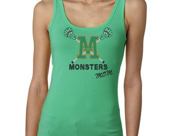 Ladies Monster Bling Tank Top