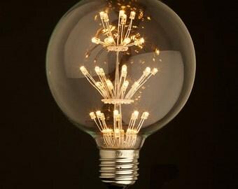 E27 LED Edison Fireworks Light Bulb 110v-220v - Edison Squirrel Cage Light Bulb - Edison bulb - led lamp - modern lamp - modern light -home