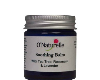Natural Soothing Balm with Tea Tree, Rosemary & Lavender - 30ml
