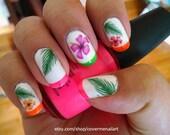 Hawaiian Flowers - Water ...