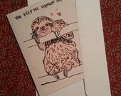 Valentine's Day Card - You Keep Me Hangin' On