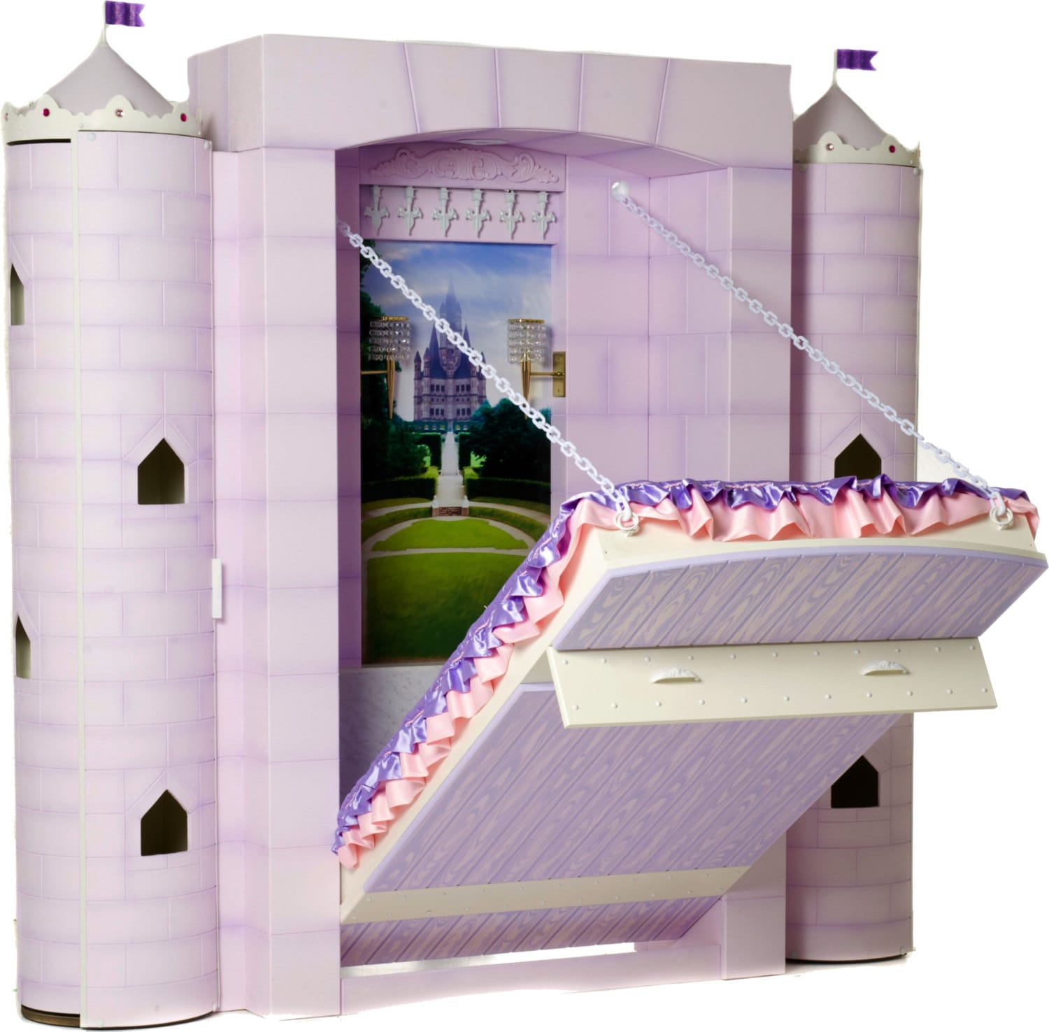 Princess Bed Castle Bed For Girl S Bedroom