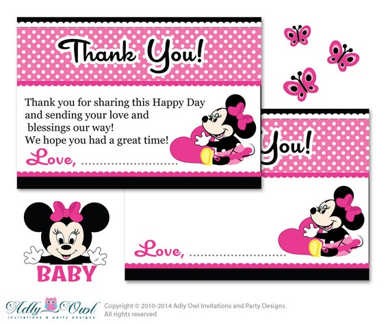 Minnie Baby Shower Invitations is awesome invitation ideas
